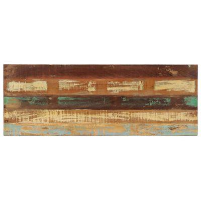vidaXL Bänk 110 cm massivt återvunnet trä