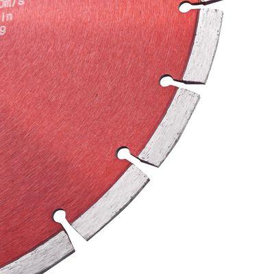 vidaXL Diamantklinga stål 300 mm