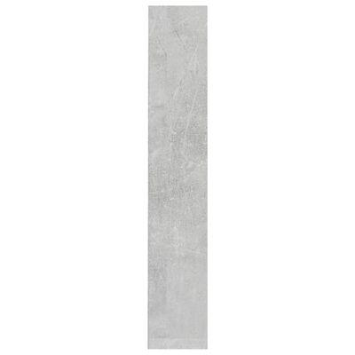 vidaXL CD-hyllor 2 st betonggrå 21x16x93,5 cm spånskiva