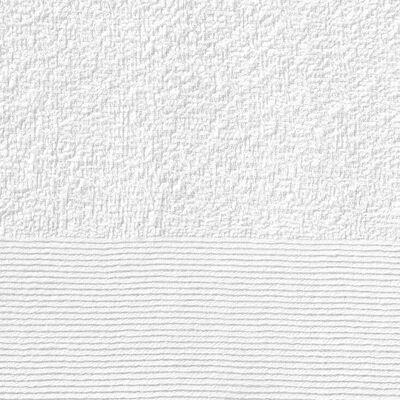 vidaXL Badhanddukar 2 st bomull 450 gsm 100x150 cm vit