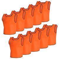Träningslinne Topp Junior orange 10 st