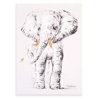 CHILDHOME Oljemålning 30x40cm elefant
