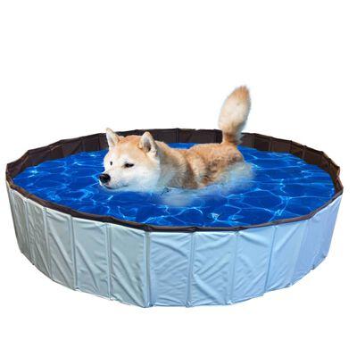 @Pet Hundpool 120x30cm L blå