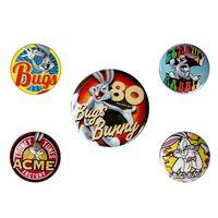Looney Tunes, 5x Pins - Bugs Bunny 80th