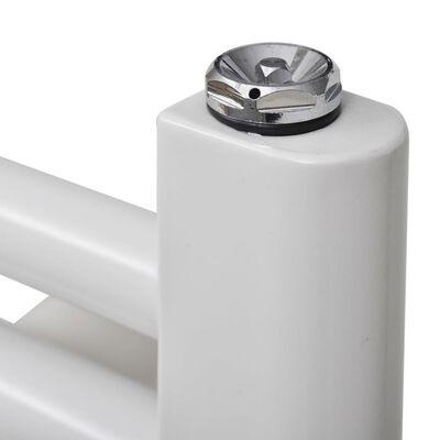 Handdukstork centralvärme element rak 600 x 1160 mm