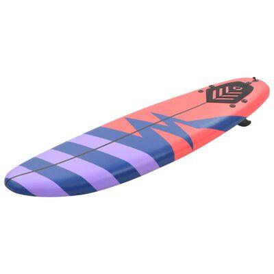 vidaXL Surfbräda 170 cm randig