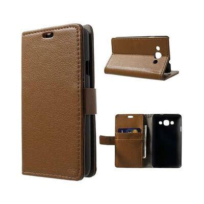 Mobilplånbok 2-kort LG L60 (X140) Brun