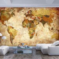Fototapet - Old World Map - 350x245 Cm