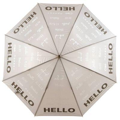 Esschert Design Paraply reflekterande Hello