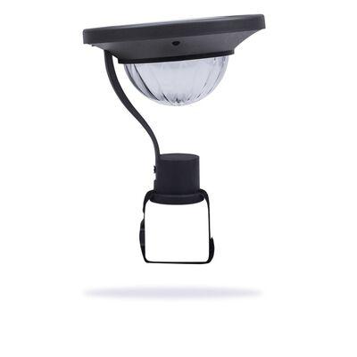 Smartwares Soldriven balkonglampa med sensor 0,2 W svart GBS-001-DB