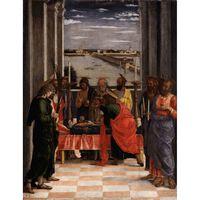 Death of the Virgin,Andrea Mantegna,54x42cm