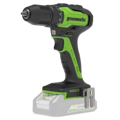 Greenworks Borrskruvdragare borstlös 24 V 35 Nm