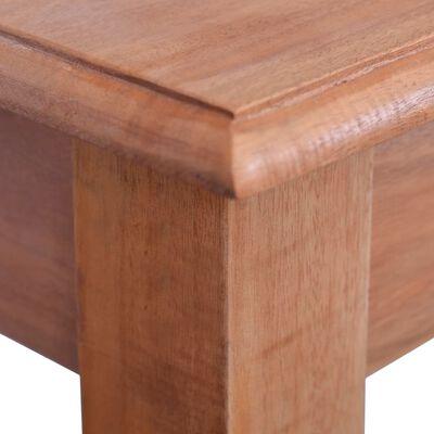 vidaXL Avlastningsbord 120 cm massiv mahogny