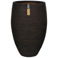 Capi Vas Nature Rib elegant Deluxe 40x60 cm brun KOFB1131