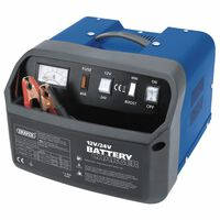 Draper Tools Batteriladdare 30,5x29x21,5 cm 12/24 V 30 A