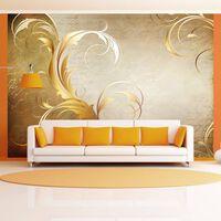 Fototapet - Gold Leaf - 350x245 Cm
