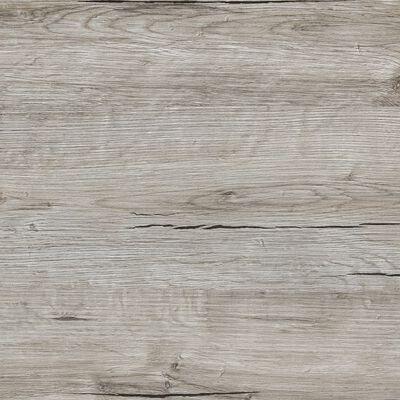 FMD Barbord vit och ljus ek, vit och sandek