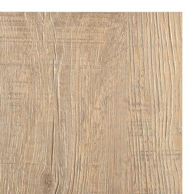 vidaXL Självhäftande golvplankor 20 st PVC 1,86 m² brun