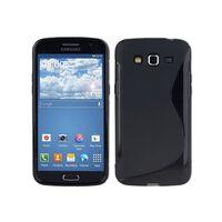 S Line silikon skal Samsung Galaxy Grand 2 (SM-G7105) Svart