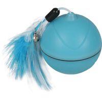 FLAMINGO 2-i-1 Bolleksak med LED Magic Mechta blå 7cm