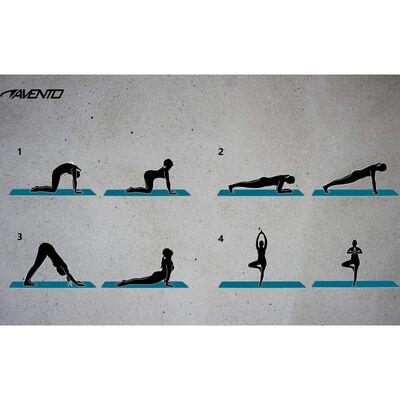 Avento Tränings/yogamatta NBR skum grå