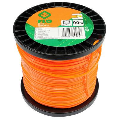 FLO Trimmertråd Extranyl 2,4mm 90m orange