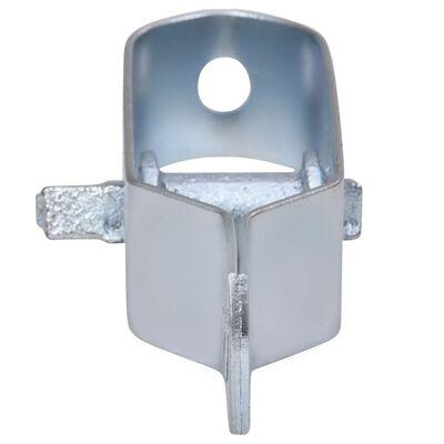 vidaXL Trådspännare 250 st 100 mm stål silver