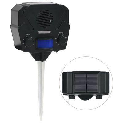 vidaXL Djurskrämma med ultraljud rörelseaktiverad