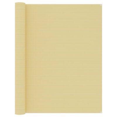 vidaXL Tältmatta 250x500 cm beige