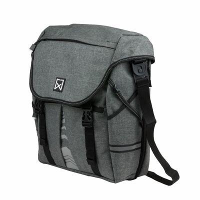 Willex Väska för cykelstyre 1200 25 liter antracit 13513