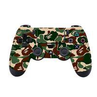 Playstation 4 / PS4 Klistermärke / Sticker - Kamouflage