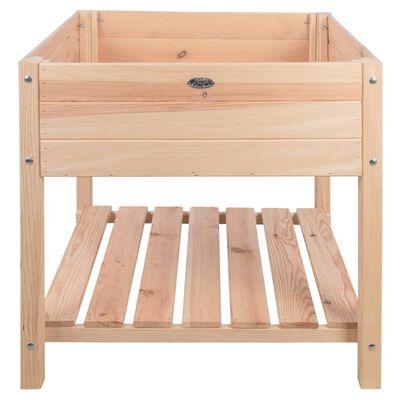 Esschert Design Upphöjd odlingslåda ljust trä XL