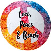 Badlakan i mikrofiber, Love, Peace & Beach