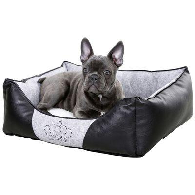 Kerbl Hundbädd Chiara 42x32 cm grå och svart 80360