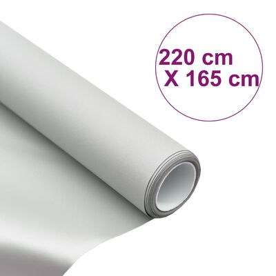 "vidaXL Projektorduk tyg metallisk PVC 108"" 4:3"