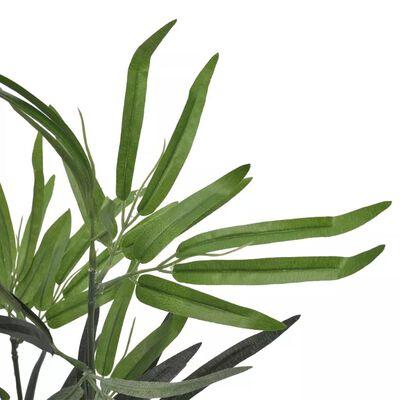 vidaXL Konstväxt bambu med kruka 80 cm