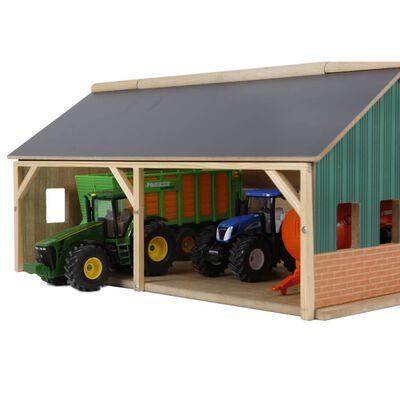 Kids Globe Traktorgarage 1:50