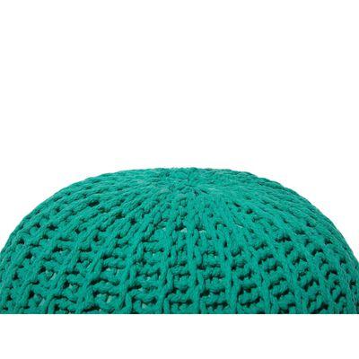 Sittpuff 50 x 35 cm smaragdgrön CONRAD II