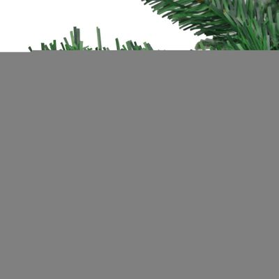 vidaXL Julgran konstgjord L 240 cm grön