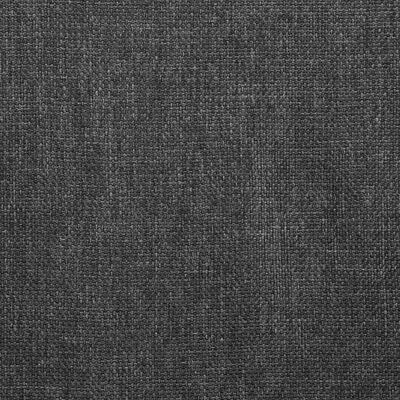 vidaXL Matstolar 4 st snurrbara mörkgrå tyg