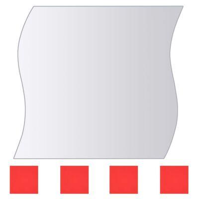 vidaXL Spegelplattor 16 st multiform spegelglas