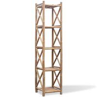 vidaXL Hylla i bambu med 5 nivåer