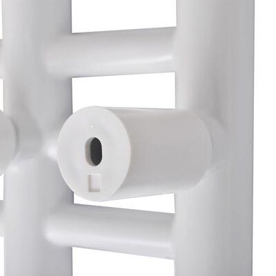 Handdukstork centralvärme element E-formad 500 x 1400 mm