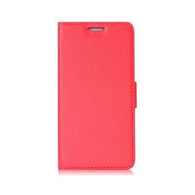 Mobilplånbok 2-kort HTC ONE M9 Röd