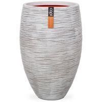 Capi Vas Nature Rib elegant Deluxe 40x60 cm elfenben KOFI1131
