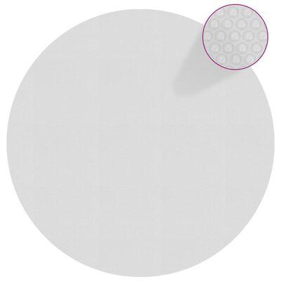 vidaXL Värmeduk för pool PE 381 cm grå
