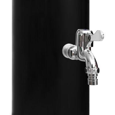 vidaXL Soldusch med duschhuvud och kran 40 L