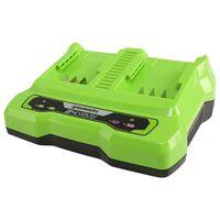 Greenworks Batteriladdare för 2 batterier 24 V 4 A
