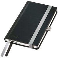 Leitz Style Anteckningsbok A6 linjerad svart