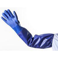 HEISSNER Gummihandskar L blå